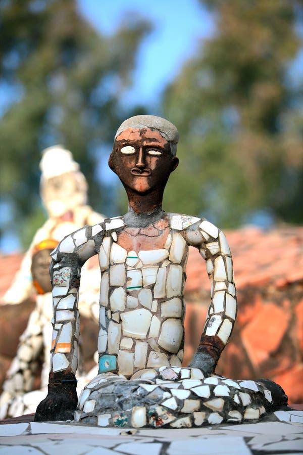 скульптура мальчика стоковая фотография