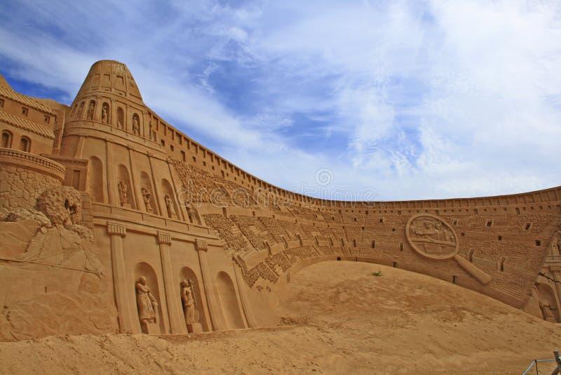Скульптура песка стоковое фото