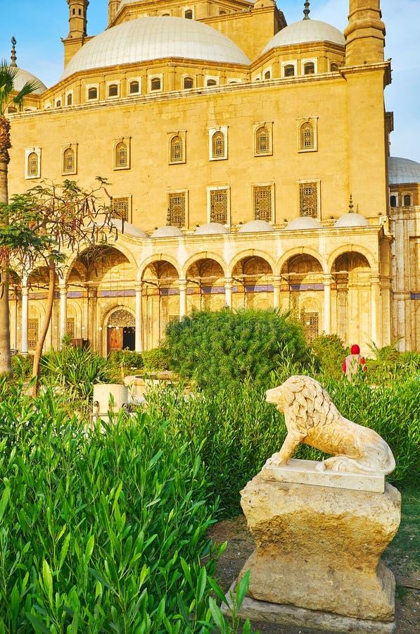 Скульптура сада, Каир, Египет стоковые изображения