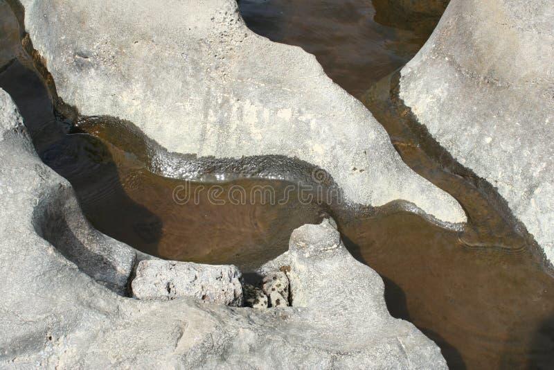 скульптура утеса реки deschutes стоковая фотография