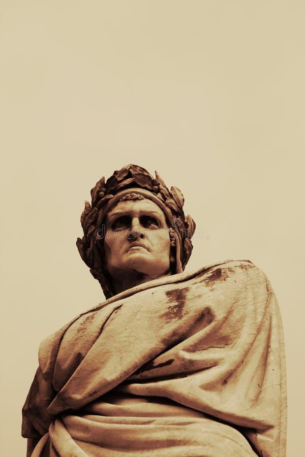 скульптура florence dante стоковые фотографии rf