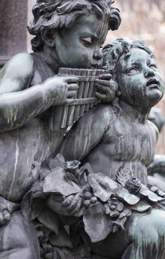 скульптуры музыкантов стоковые изображения rf
