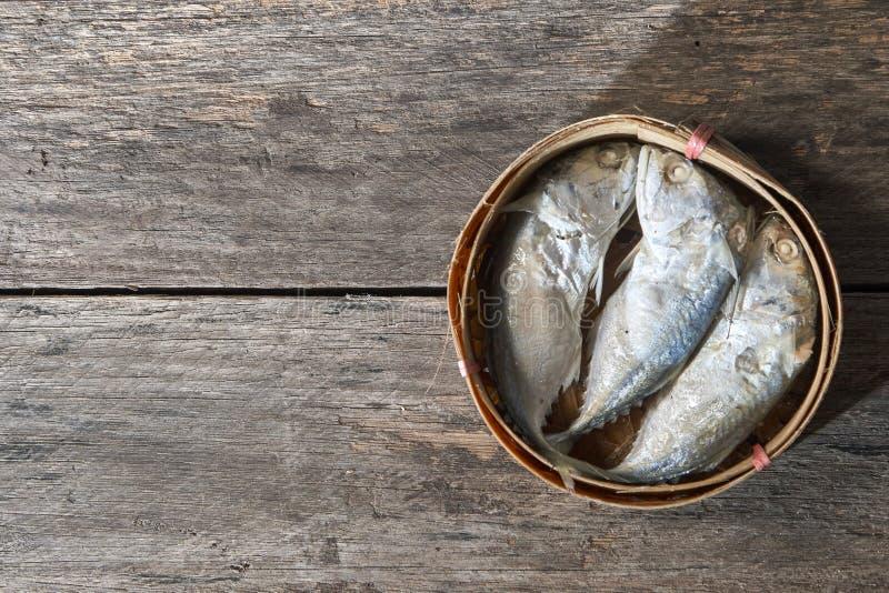 скумбрия корзины тайская стоковое фото