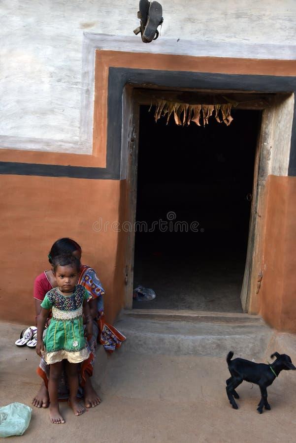 скудость Индии соплеменная стоковые фотографии rf