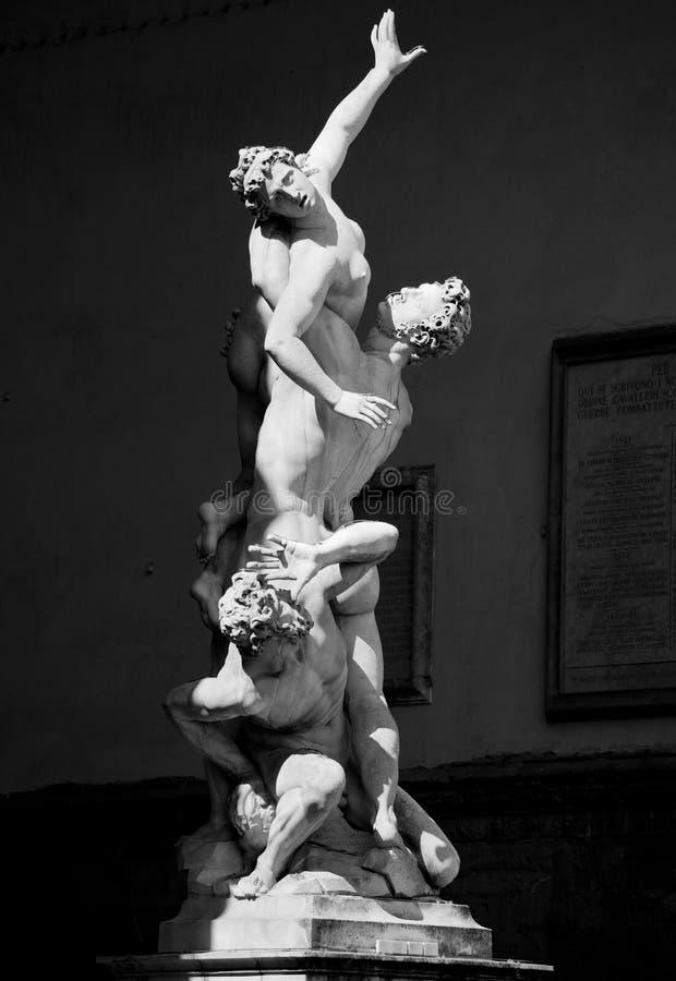 Скульптура в Флоренсе стоковые изображения rf
