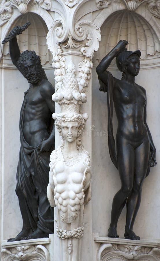 Скульптура в Флоренсе стоковая фотография