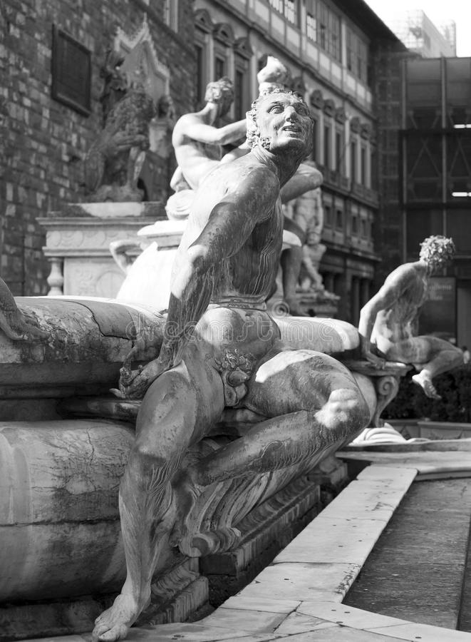 Скульптура в Флоренсе стоковая фотография rf