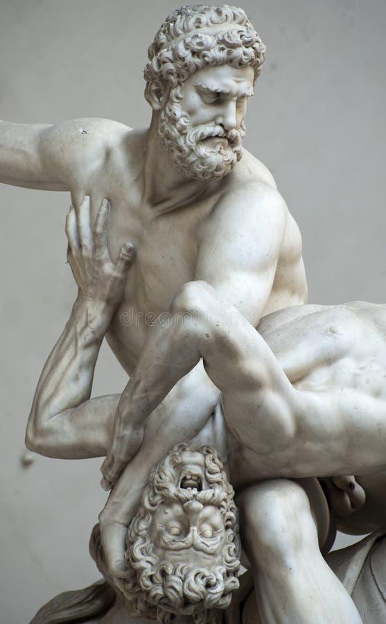 Скульптура в Флоренсе стоковое изображение