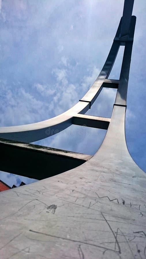 Скульптура города стоковое фото rf