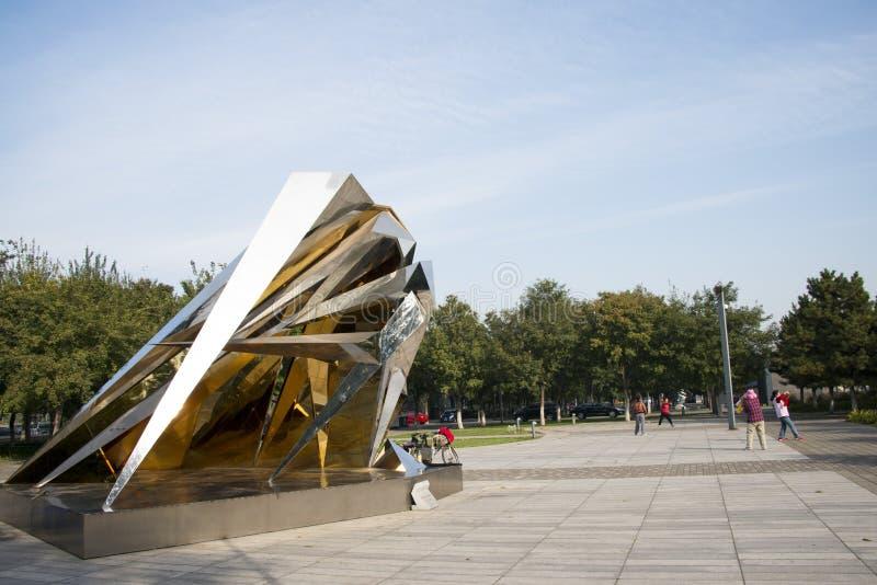 Скульптура, 3 градуса развития космоса стоковые изображения rf