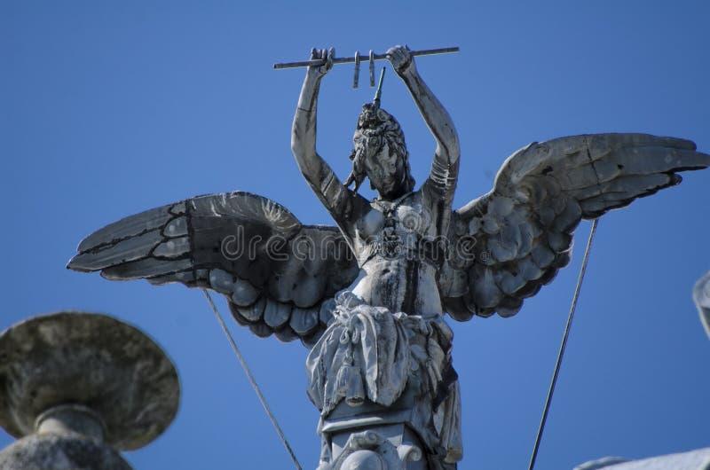 Скульптура искусства уловки стоковое изображение rf