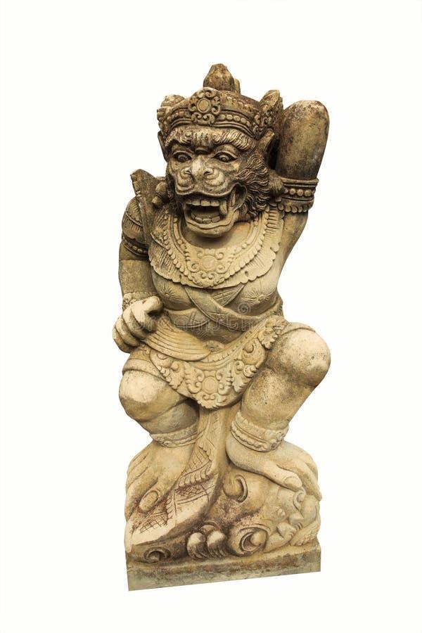 Скульптура предохранителя обезьяны стоковые фотографии rf