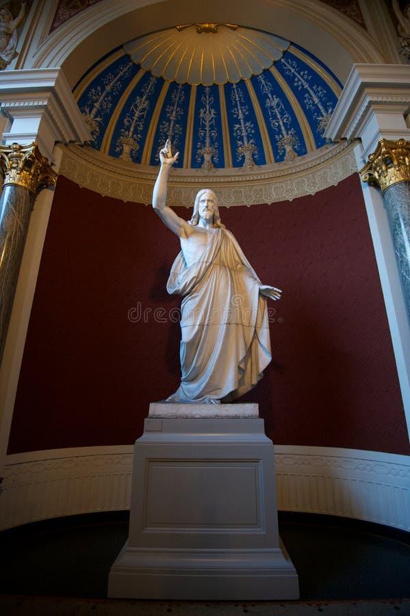Скульптура Христоса стоковое изображение rf
