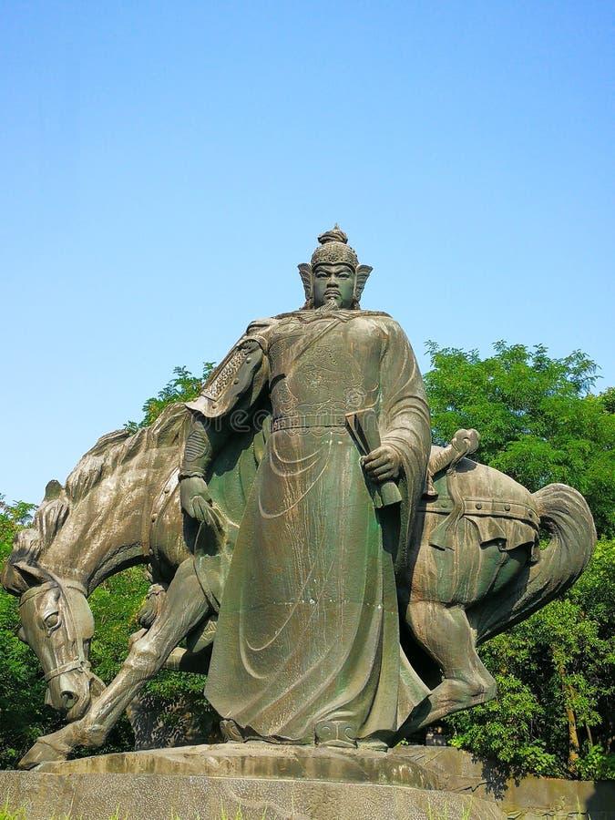 Скульптура fei yue стоковые изображения rf