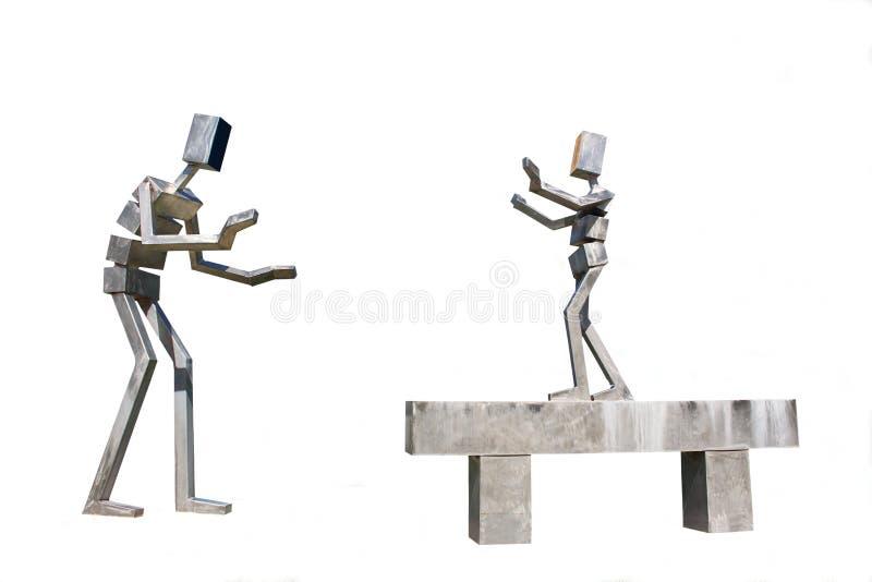 Скульптуры людей стоковое изображение