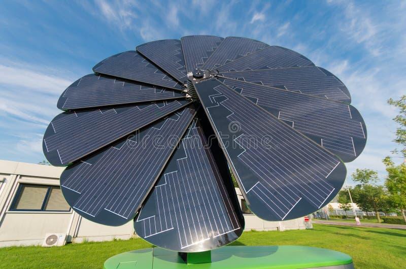 Складной солнечный коллектор стоковое изображение rf