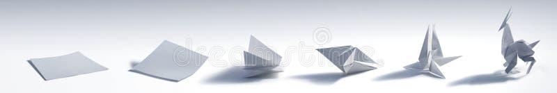 Складывать животное Origami стоковые изображения