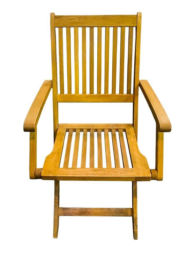 складывать стула деревянный стоковое изображение rf