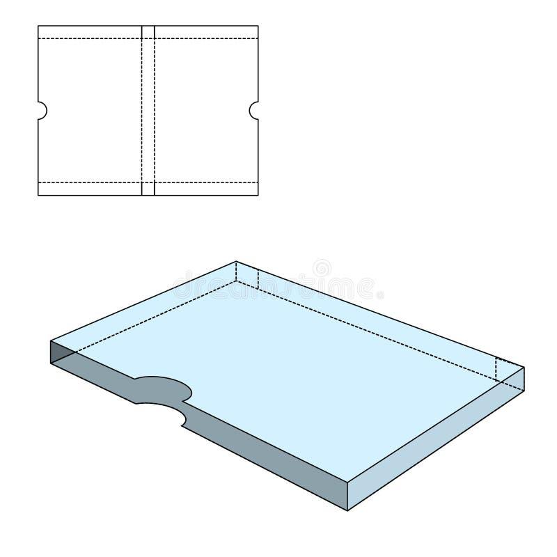 Складывая пакет 30 иллюстрация вектора
