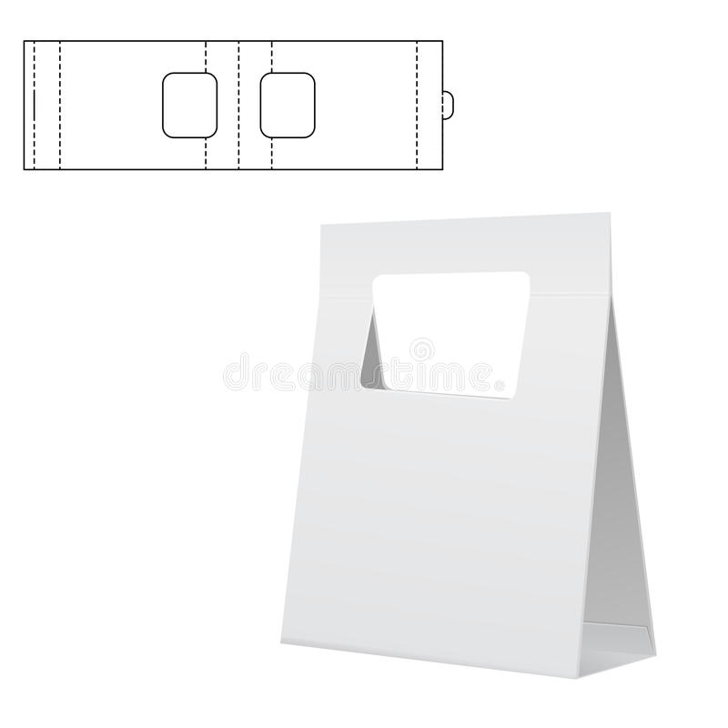 Складывая пакет 30 иллюстрация штока