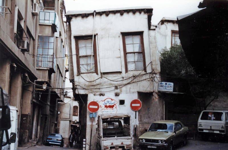 Склоняя дом стоковое фото rf