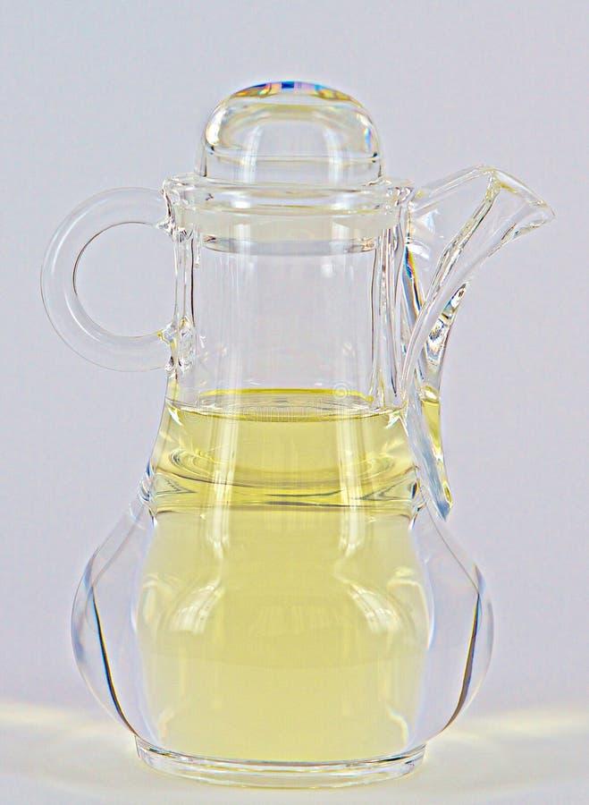 Склянка масла стоковое изображение