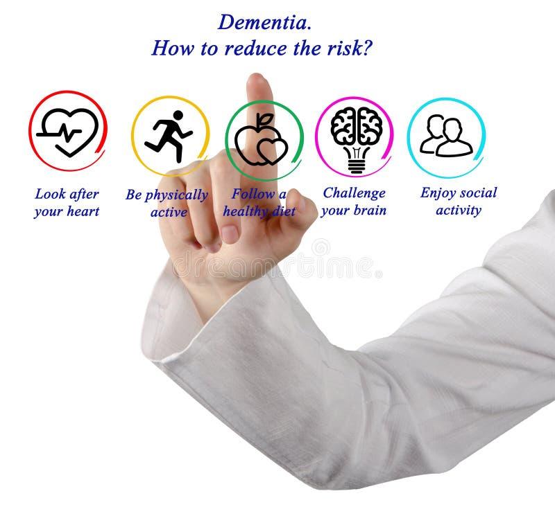 слабоумие Как уменьшить риск? стоковые фотографии rf