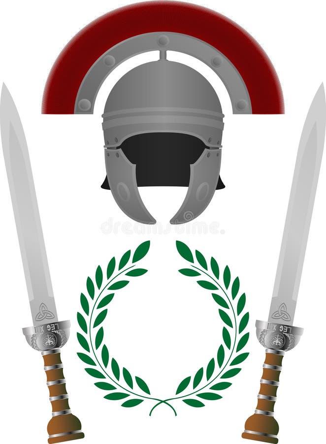 слава римская иллюстрация штока