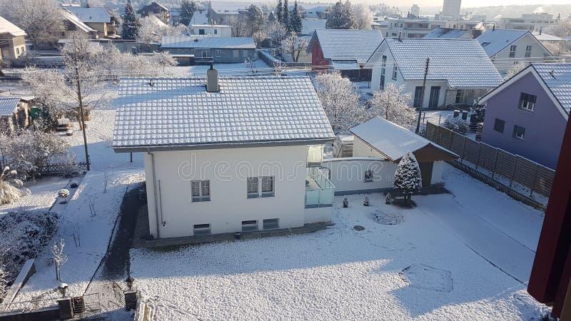 славная зима стоковое фото rf