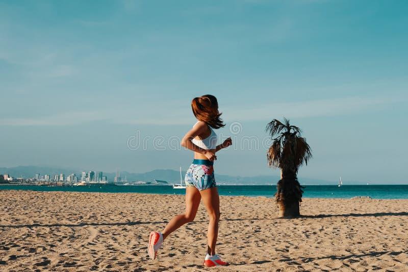 Славный день для jogging стоковые фотографии rf