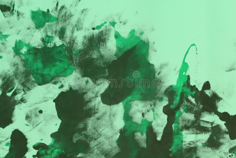 Славный затрапезный teal, цвета морской волны случайно красил холст, ткань с пятнами краски цвета и закрывает текстуру для пользы стоковые фото