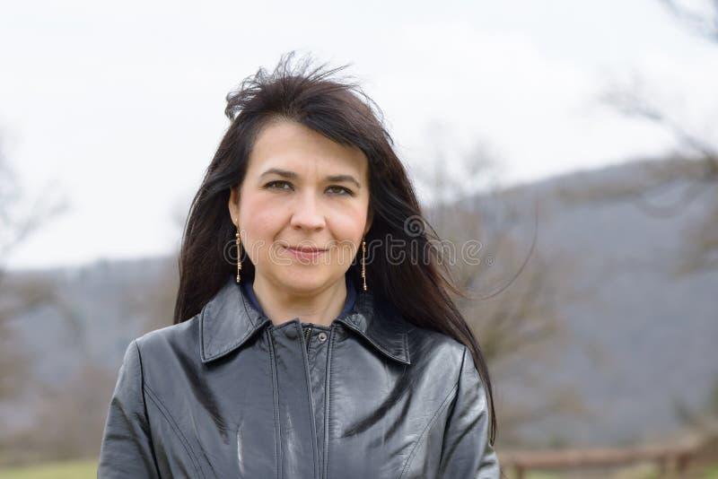 Славный украинский портрет девушки стоковое фото rf