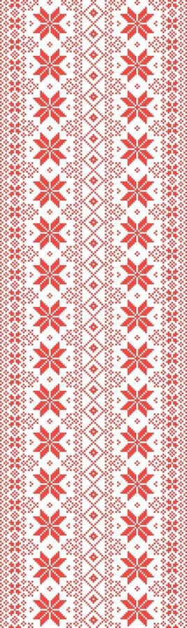 Славянский старый орнамент amputee иллюстрация вектора