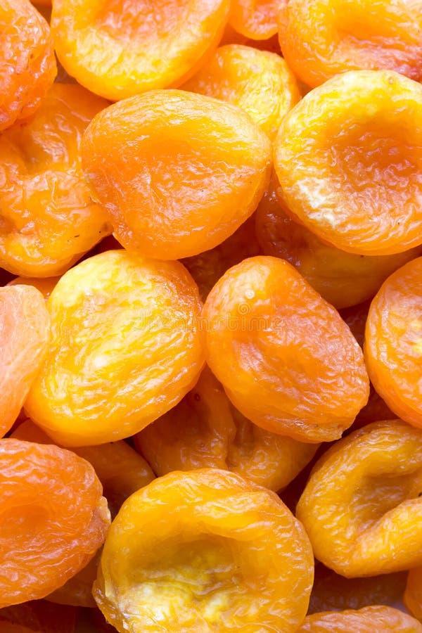 Сладкие высушенные абрикосы, высушенные плоды - конец-вверх стоковая фотография