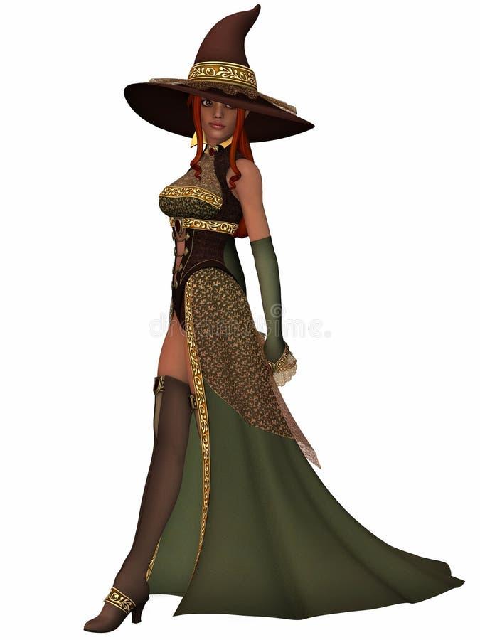 сладостная ведьма бесплатная иллюстрация
