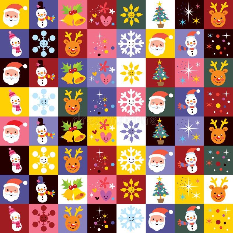 Сладостная картина рождества бесплатная иллюстрация