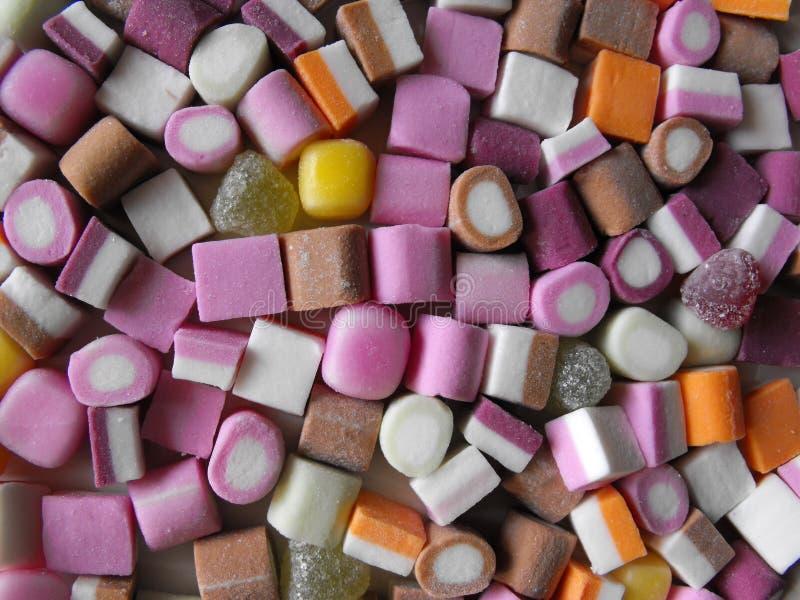 Сладостное изображение настольного компьютера конфеты стоковая фотография rf