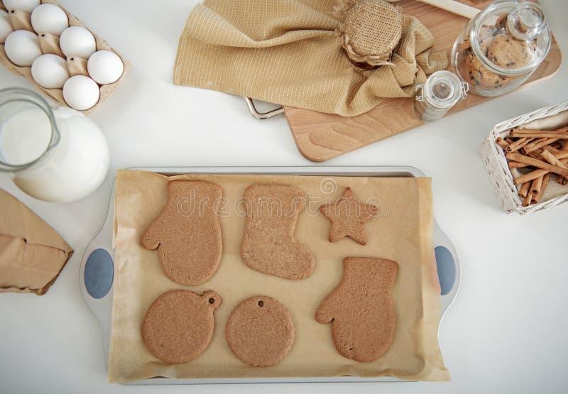 Сладостное печенье подготовленное для специального случая стоковые фотографии rf