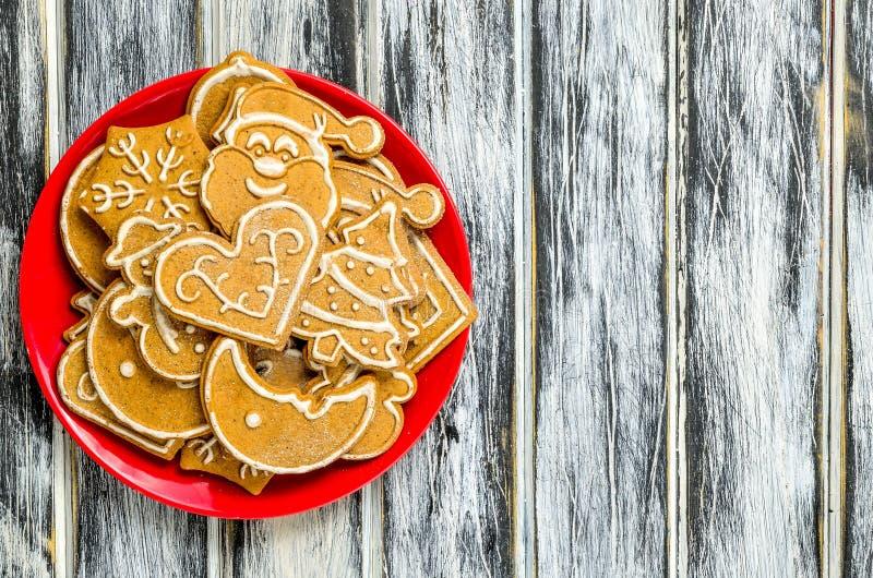 Download Сладостные печенья рождества Стоковое Фото - изображение насчитывающей празднично, рамка: 107263270