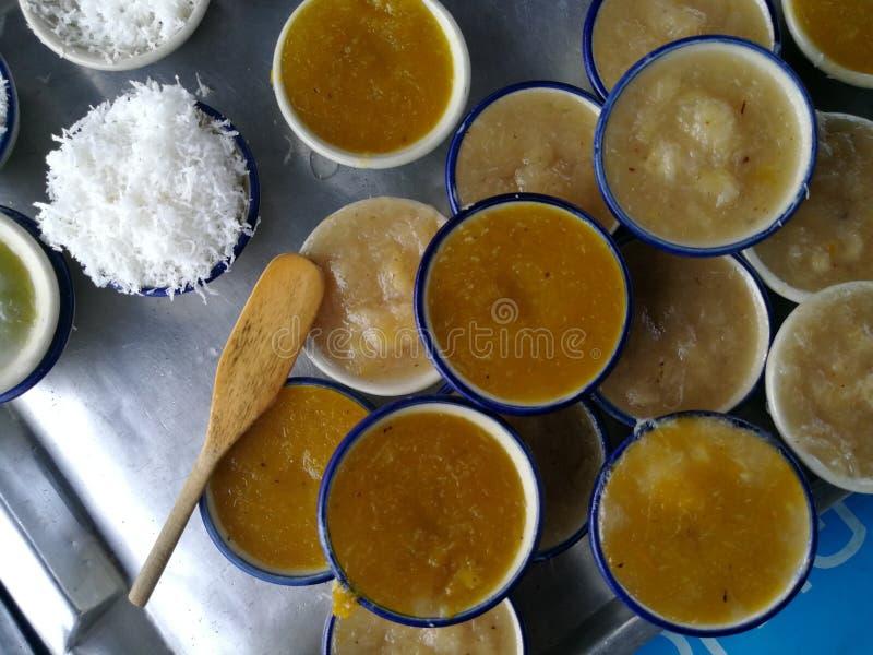 Сладостные тайские десерты стоковое фото rf