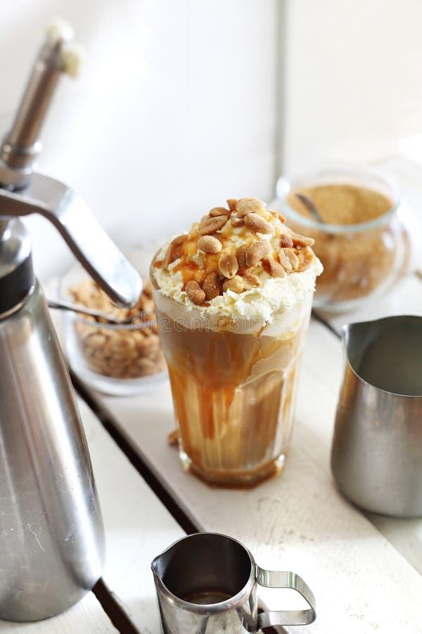 Сладостный десерт кофе стоковые изображения