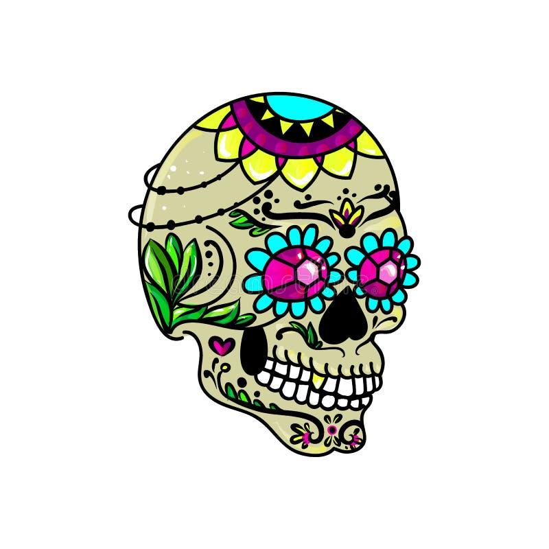 Сладостный череп бесплатная иллюстрация