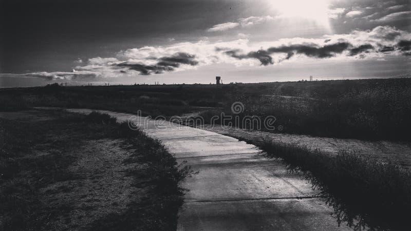 Следовать путем стоковые фотографии rf