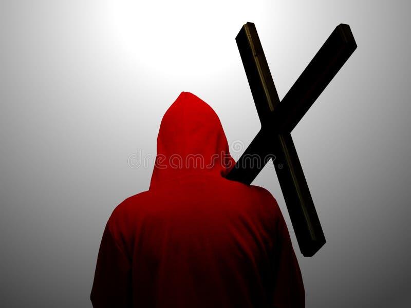 следуя за jesus стоковые фотографии rf