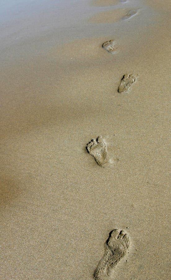 следы ноги стоковое фото rf