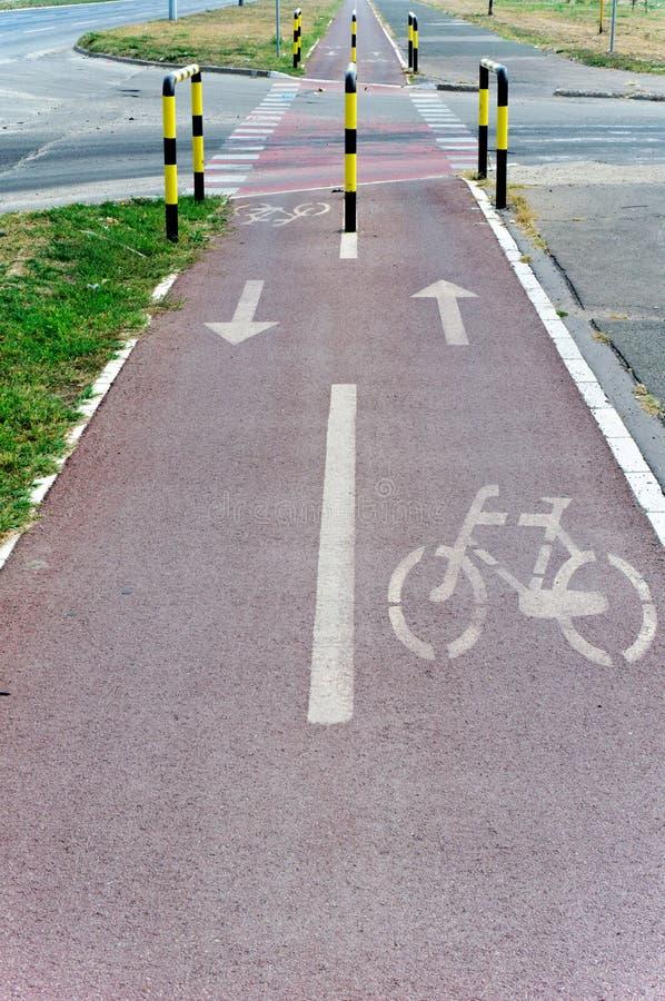 След велосипеда стоковая фотография