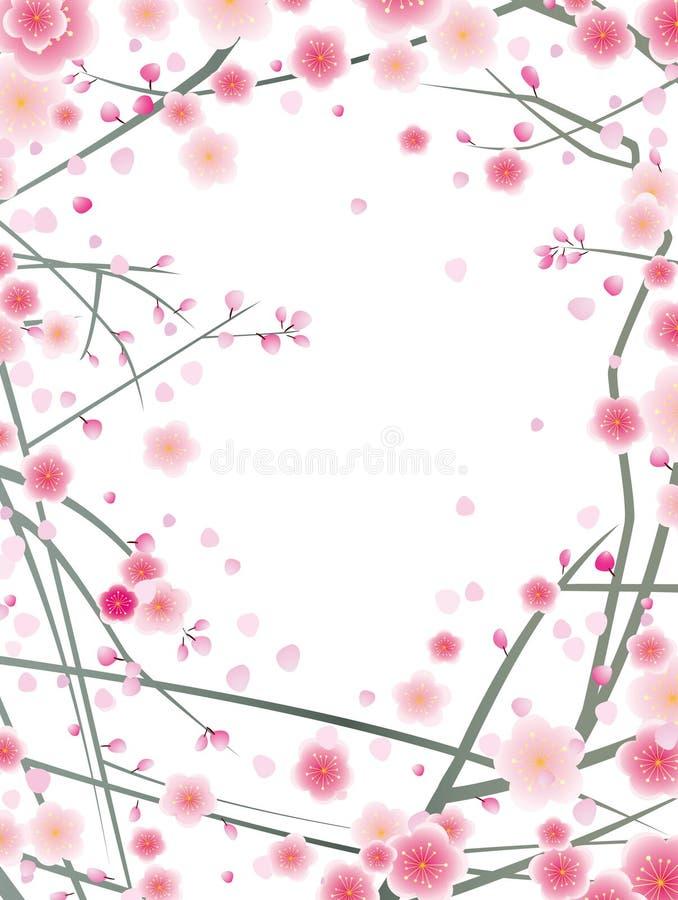 слива картины вишни цветения бесплатная иллюстрация