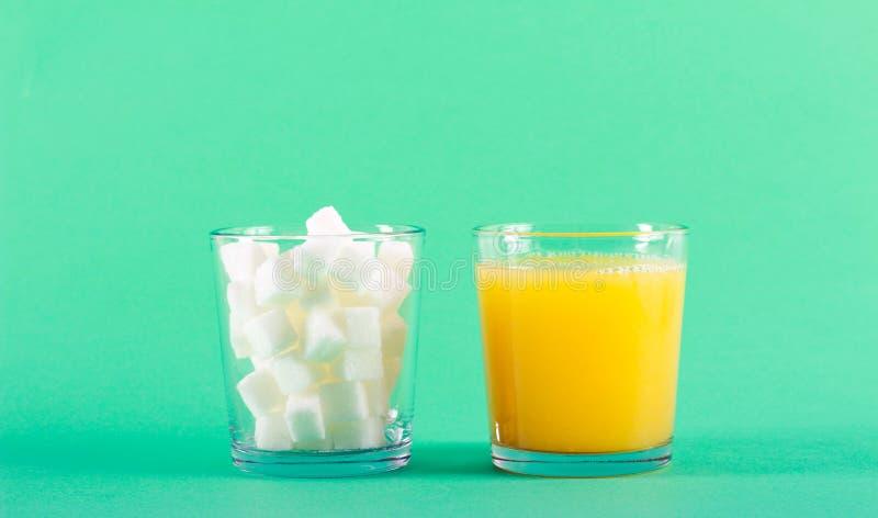 Слишком много концепции сахара стоковые изображения