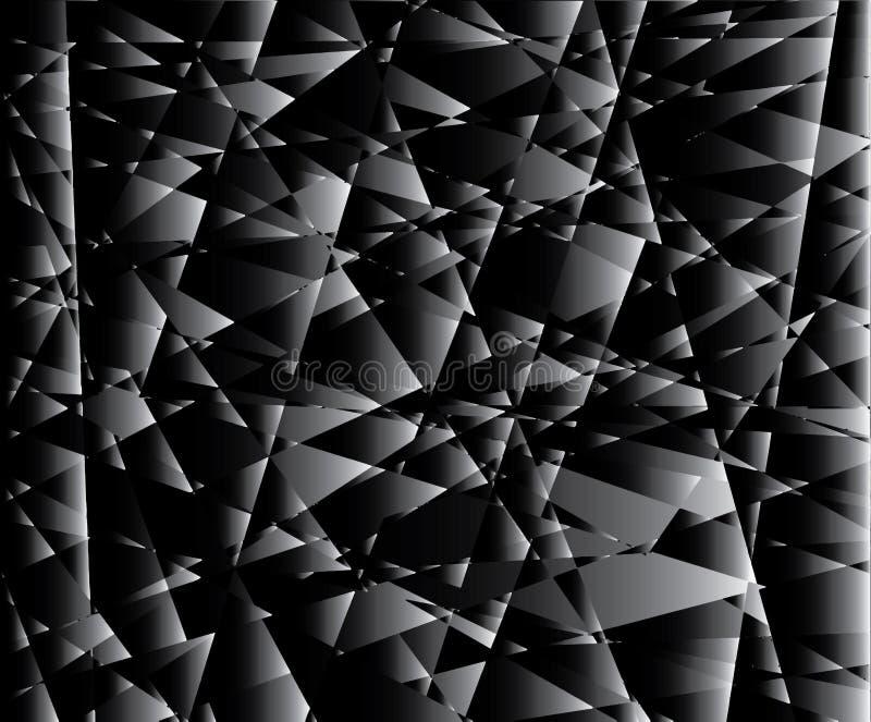 Слишком много черно-белых элементов иллюстрация вектора