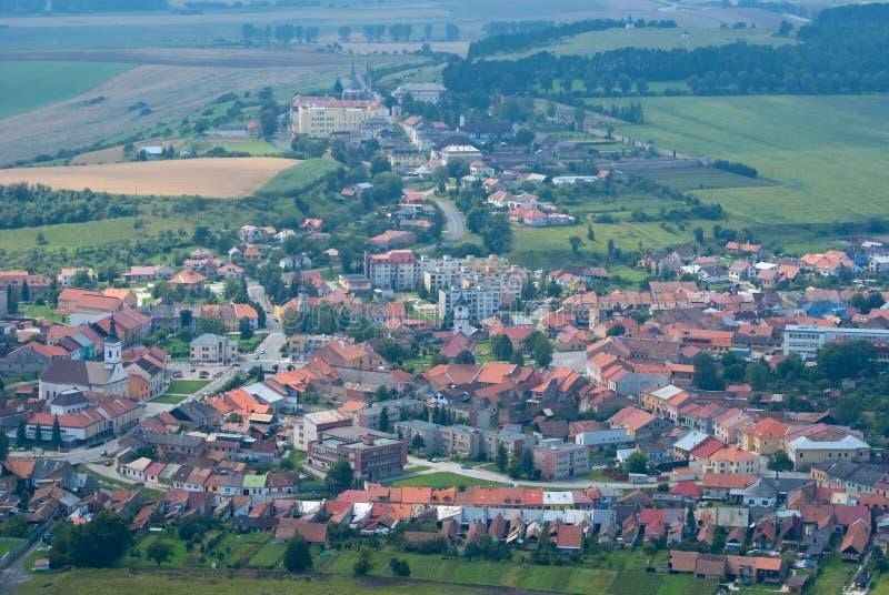 Словакия Spisske Podhradie стоковые фотографии rf